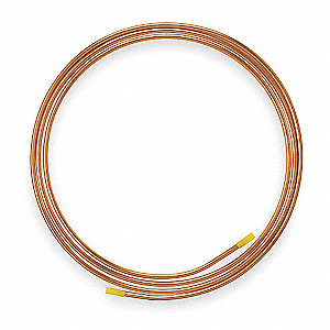 "50 ft. Soft Coil Copper Tubing, 3/16"" Outside Dia., 0.127"" Inside Dia."