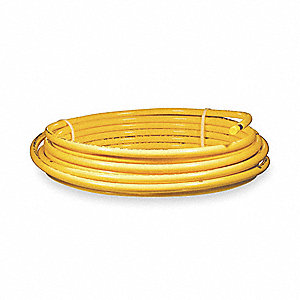 PLASTIC COATED YELLOW COIL,3/8 OD 5