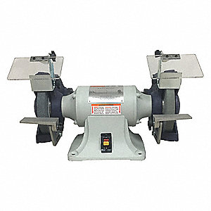 Bench Grinder,8 In,3/4 HP,3 Ph 220/440V