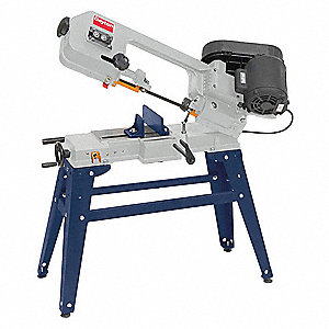 1/3 HP Horizontal Band Saw, Voltage: 115/230, Max. Blade Length: 64-1/2""