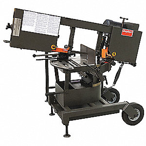 1 HP Horizontal Miter Band Saw, Voltage: 115/230, Max. Blade Length: 120""