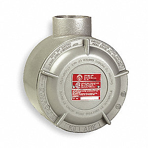 "E-Style 1-1/2"" Conduit Outlet Body, Threaded Aluminum, 75.0 cu. in."