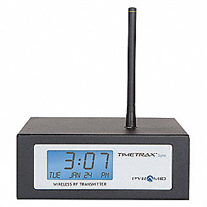 RF Wireless Ethernet Transmitter, Desktop Mount, Rectangle, 110VAC