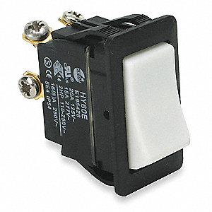 Rocker Switch,DPST,4 Connections