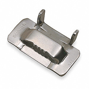 Strapping Buckle,3/4 In.,PK50