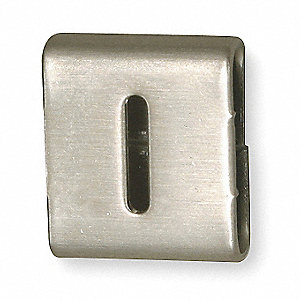 Silver Letter I/1 Tag, 25 PK
