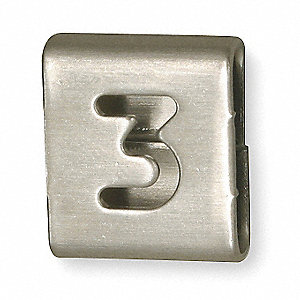 Numbered Tag, 25 PK