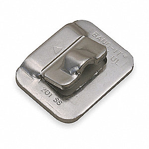 Strapping Buckle,3/4 In.,PK25
