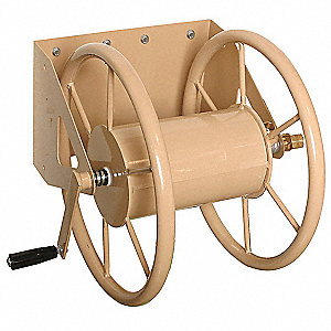 Wall Mount Hose Reel,Steel,15-1/2 In.