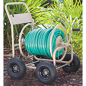 Portable Hose Cart,Steel,16-1/2 In.