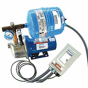 Stainless Steel 1.5 HP Multi Stage Constant Pressure Booster System, 1 Phase, 208/230 Voltage