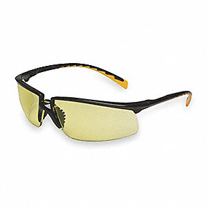 Privo™ Anti-Fog Safety Glasses, Amber Lens Color