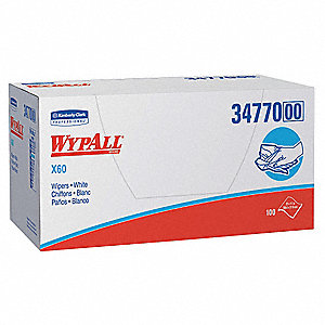 "Hydroknit(R) Disposable Wipes, 100 Ct. 23"" x 11"" Sheets, White"