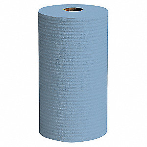 Blue Hydroknit(R) Wypall Wiper Rolls, Number of Sheets 130, Package Quantity 6