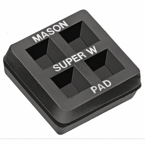 mason vibration iso pad 2x2x3 4 in pk2 2lvr4 2lvr4