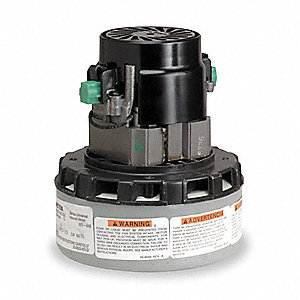 "Peripheral Bypass Vacuum Motor, 5.7"" Body Dia., 120 Voltage, Blower Stages: 2"