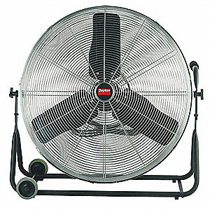 "24"" Light Commercial Mobile Non-Oscillating Air Circulator"