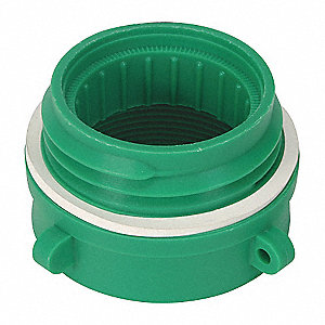 Polyethylene   Buttress Adapter, Includes PTFE Tape, Instructions