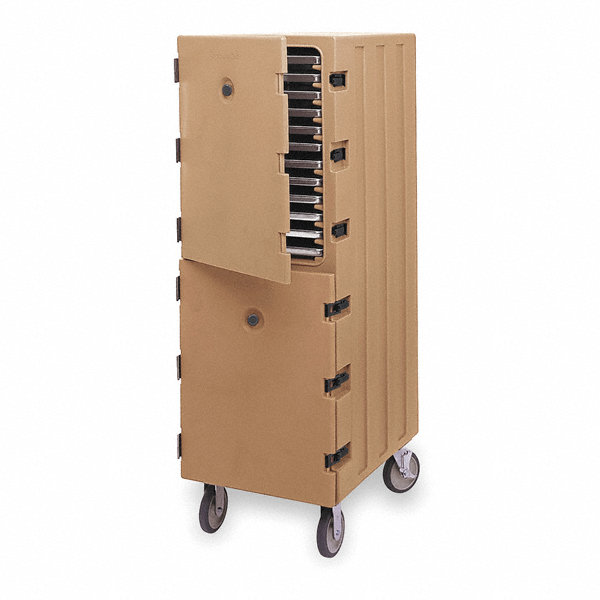 Cambro Food Delivery Cart Trays Brown Cap 24 2mgg6 Ea1826dtc131 Grainger