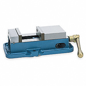 Flat Vise,D40,4 In,7801 Lb of Force