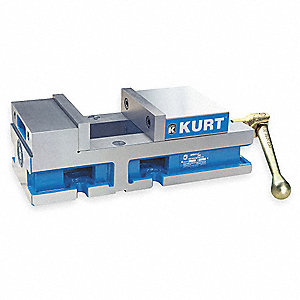 Flat Vise,3600 V,6 In,6356 Lbs of Force