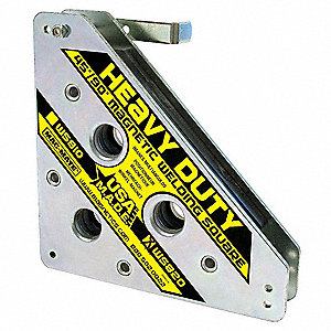 Magnetic Weld Square,8x8in,325lb