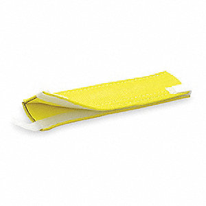"12"" Polyester Wear Pad, 3/16"" Thick, For Sling Width: 2"", Yellow"
