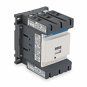 IEC Magnetic Contactor, 120VAC Coil Volts, 150 Full Load Amps-Inductive, 1NC/1NO Auxiliary Contact F
