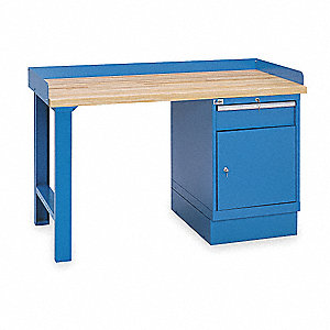 "Workbench,Butcher Block,72"" W,30"" D"