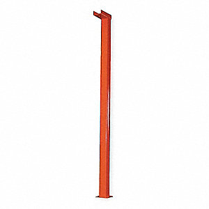 Vertical Post,14 Ft Height,Orange