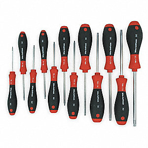 TORX SCREWDRIVER SET,12 PC