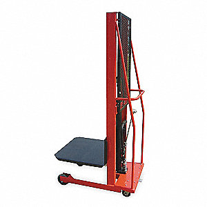 Hydr Pltfrm Lift, 1000 lb. Cap.80  In H