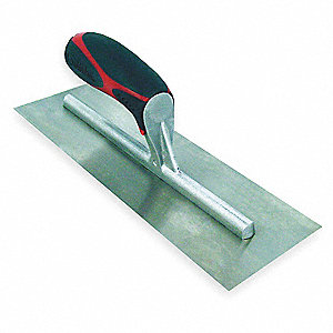 Concrete Finish Trowel,20 In,Square End