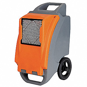 "Low-Grain Portable Dehumidifier, 115V, 11.3 Amps, Depth 23-1/2"", Width 18"", Height 36-3/4"""