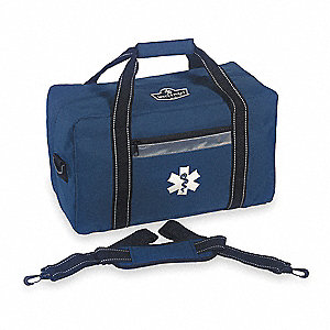 Responder Trauma Bag, 10x7-1/2x16-1/2 In