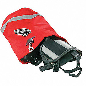 SCBA Mask Bag,Red