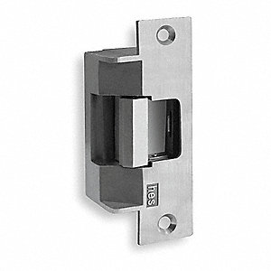 Heavy Duty Electric Strike with 1500 lb. Pull Force and Stainless Steel Finish