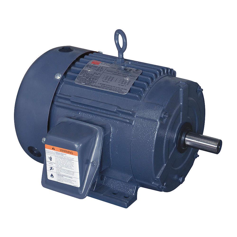 3 HP 182T Frame 3500 RPM 230//460 Volt AC Motor