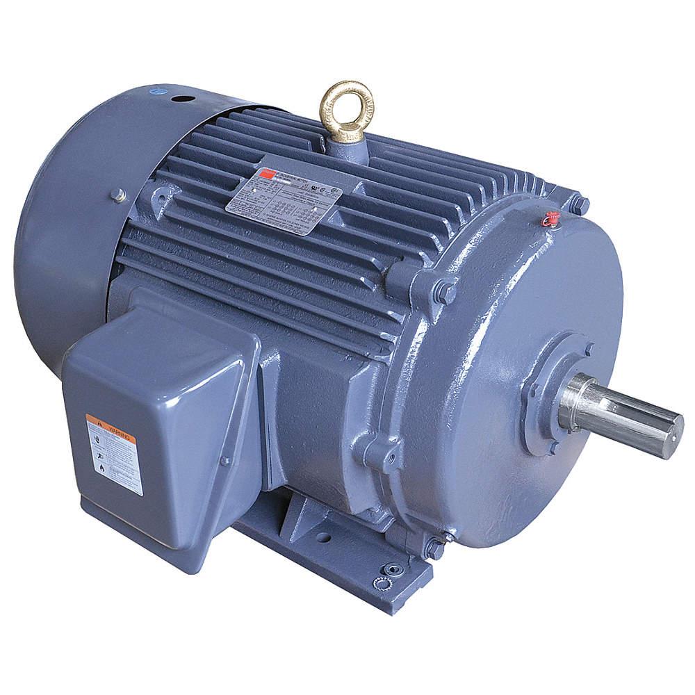 DAYTON 50 HP General Purpose Motor,3-Phase,3560 Nameplate RPM ...