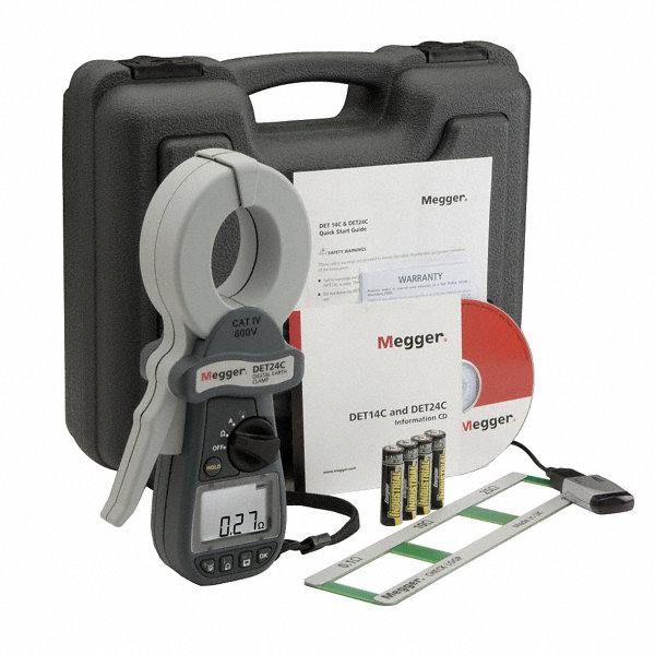 Megger Clamp On Earth Resistance Tester To 1550 Ohm