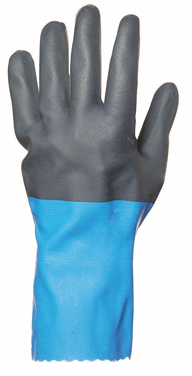PR PK8 Sz 9 Chemical Resistant Glove 29 mil