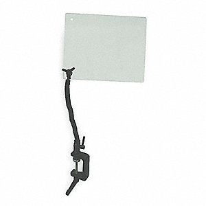 Safety Shield, C Clamp,6 x 8 In,3/16 T