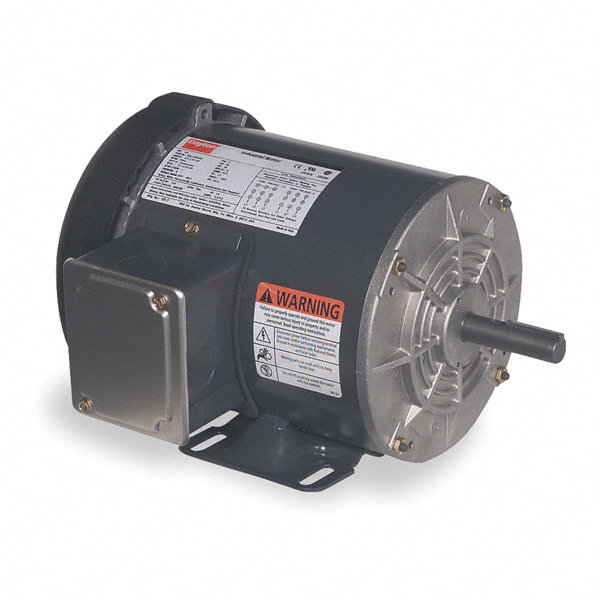Dayton 1 1 2 hp general purpose motor 3 phase 1725 for General motors extended warranty plans