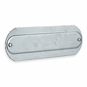 Conduit Body Cover,3/4 in.