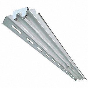 Standard Series Fluorescent Fixture, Apertured Reflector Type, 59W Lamp Watts