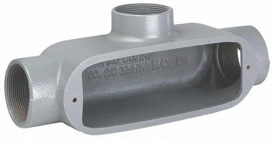 "New No Cover Type X Series O Killark OX-1 1//2/"" Conduit Body"