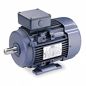 3 HP Metric Motor,3-Phase,3425 Nameplate RPM,230/460 Voltage,Frame D90L
