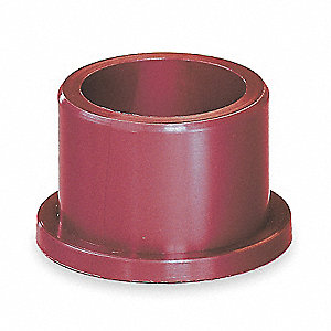 Flanged Bearing,1/2 IDx1/2 In L,PK5
