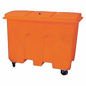 Spill Kit Container,Whled Chst, 47 In. H