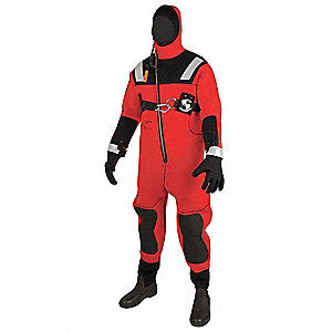 Ice/Water Rescue Suit,Size Oversize
